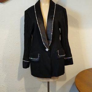 Vintage Solini Rhinestone Blazer